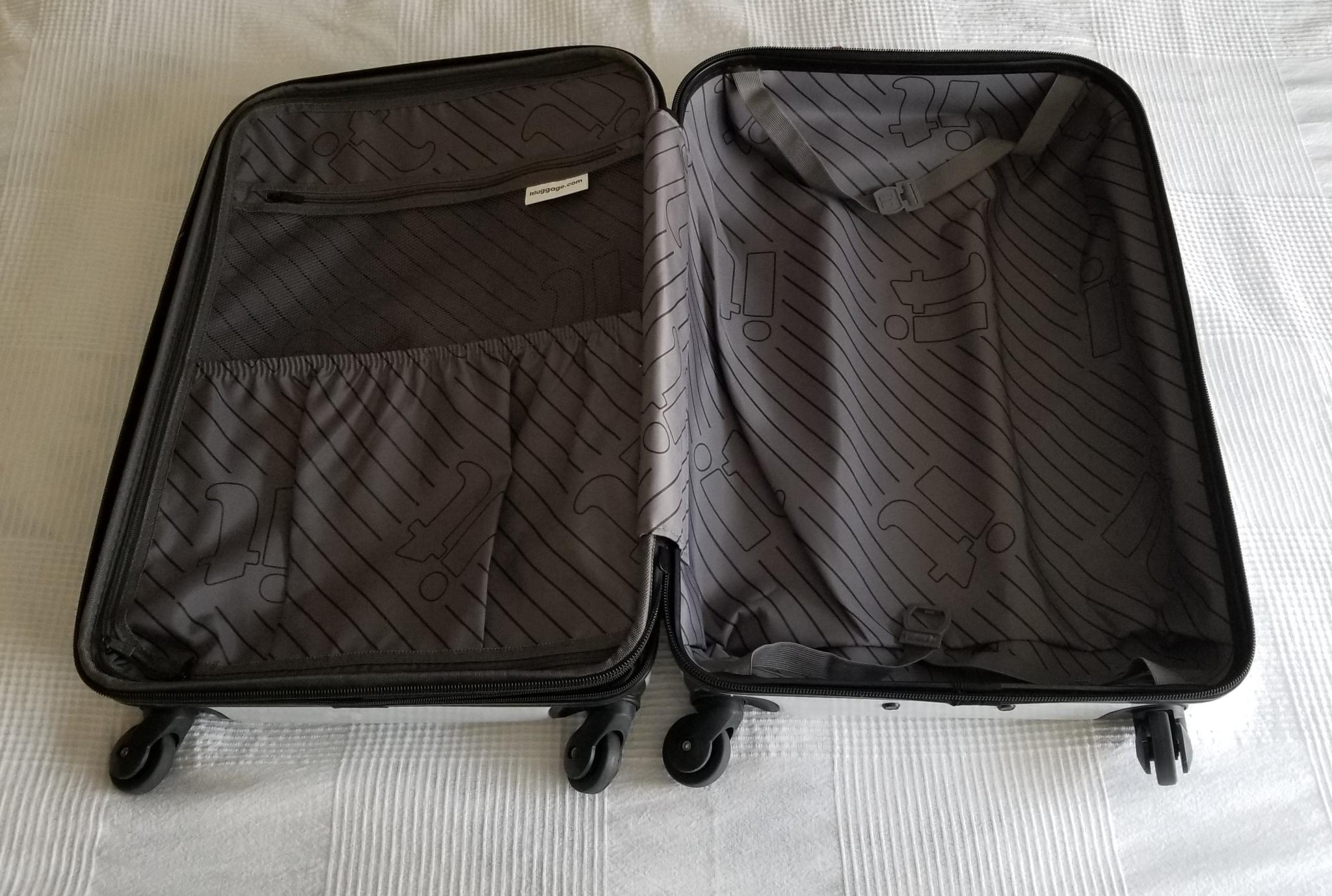White 'IT' Suitcase