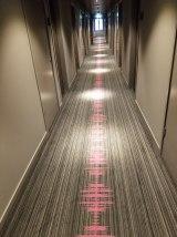 Carpet Hall in Moxy Frankfurt