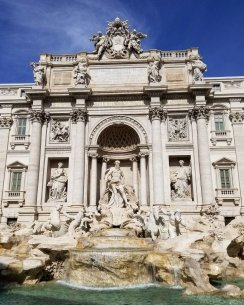 Trevi Fountain by day