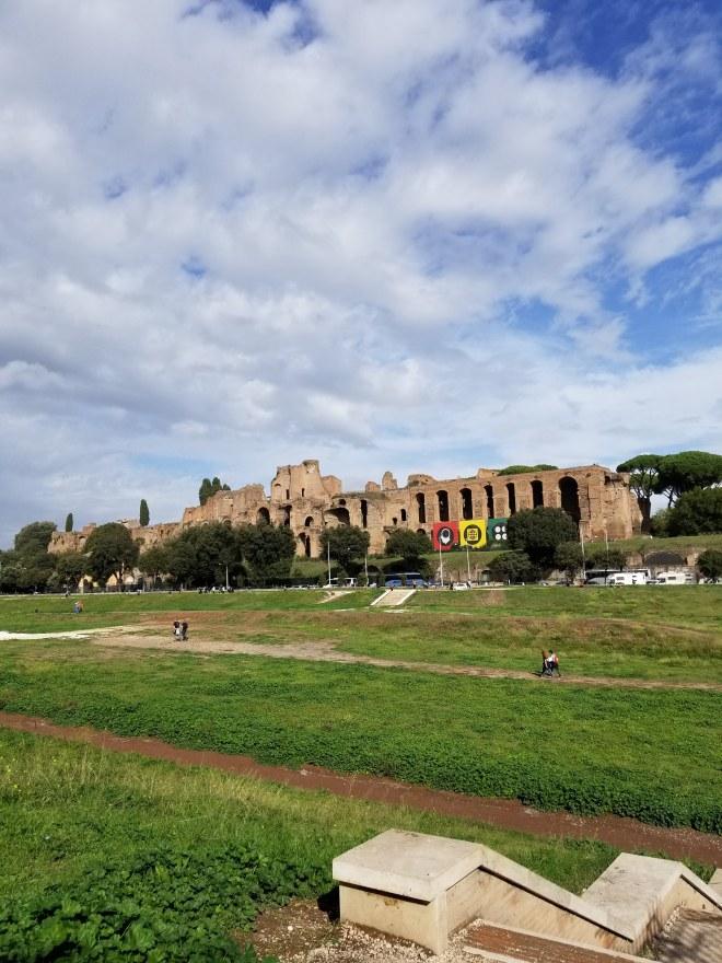 Flavian Palace Ruins